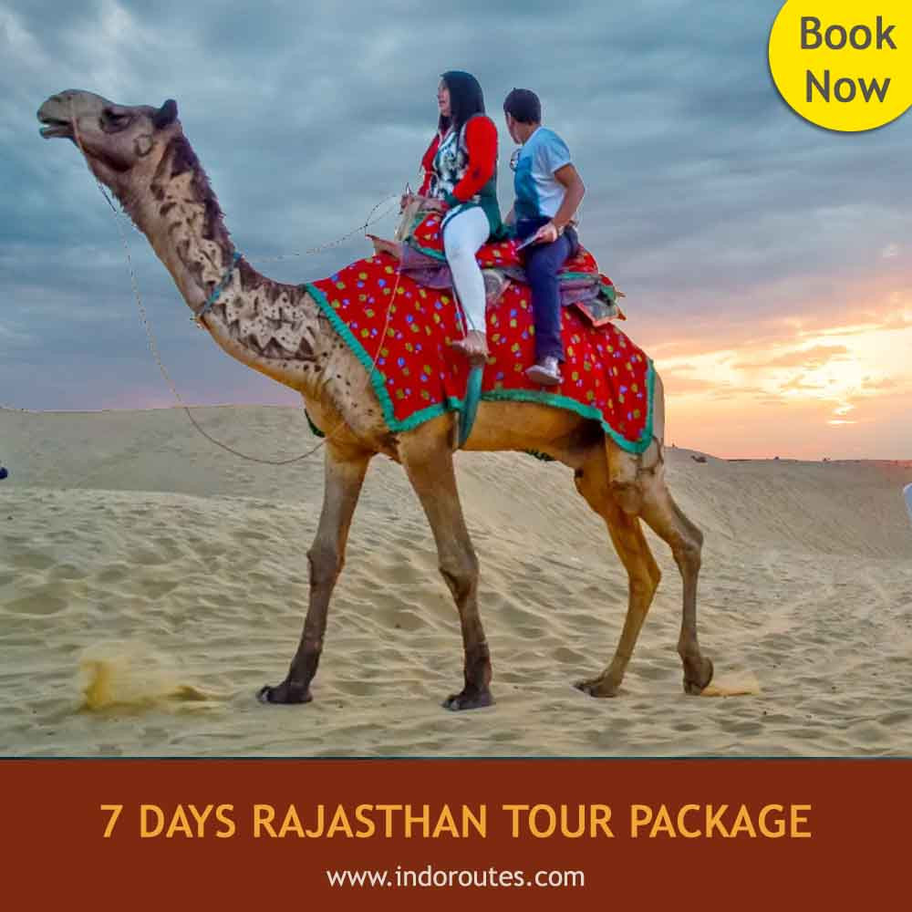 7 Days Rajasthan Tour Package from delhi
