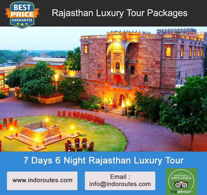7 Days 6 Night Rajasthan Luxury Tour