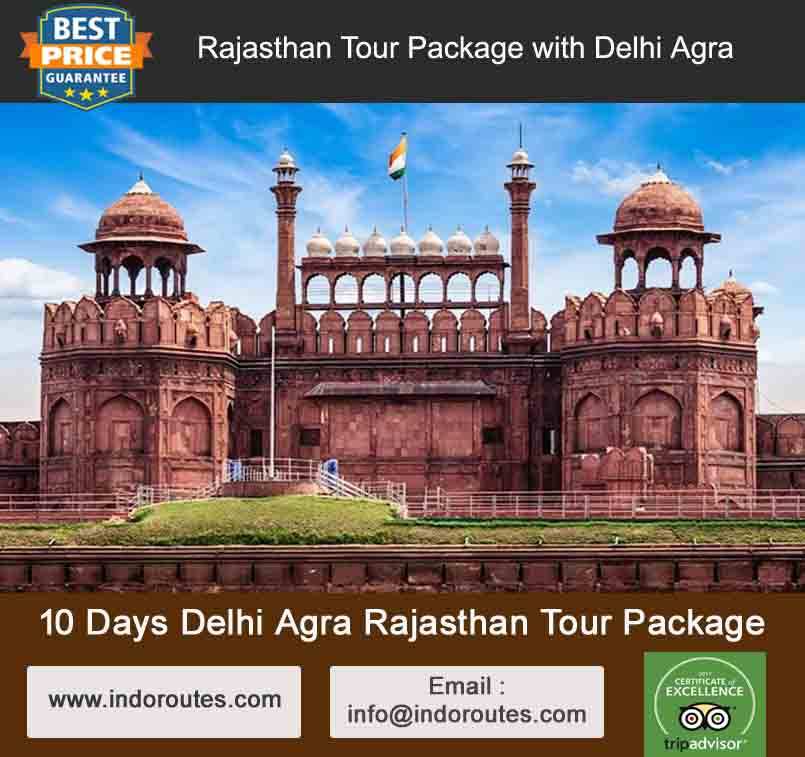 10 Days Delhi Agra Rajasthan Tour Package
