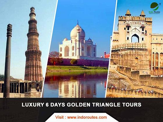 Luxury 6 Days Golden Triangle Tours
