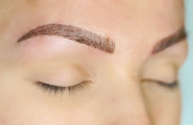 Microblading before and after in Portland Oregon