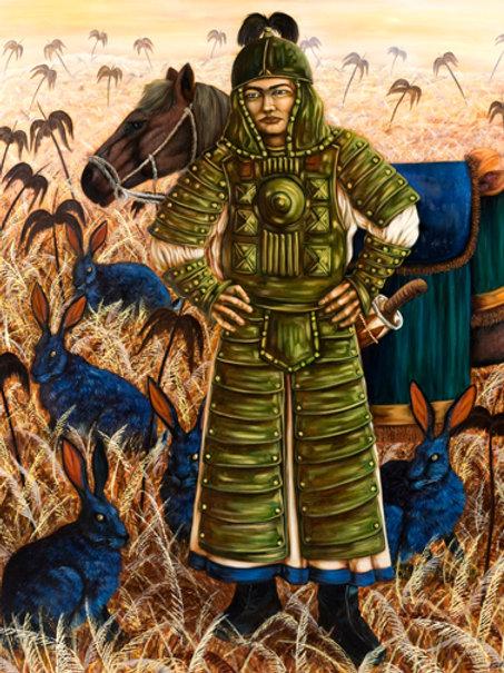 A SOLDIER IN A STRANGE LAND