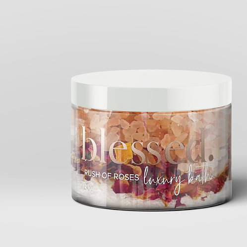 Rush of Roses Luxury Bath