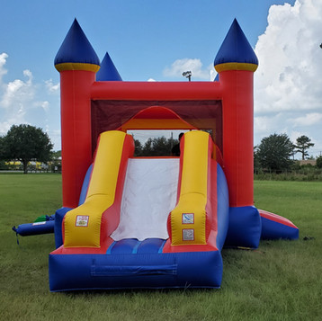 BOUNCE HOUSES & WATER SLIDES