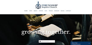 Friendship Baptist Church - Designed by HIS Design Services