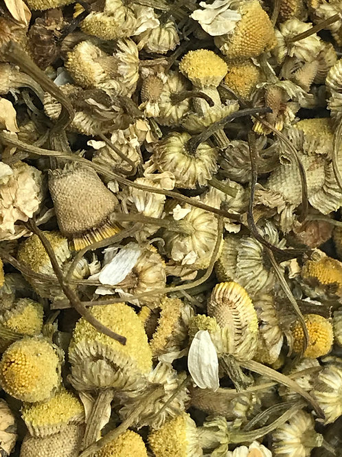 Organic German Chamomile Flowers- Whole