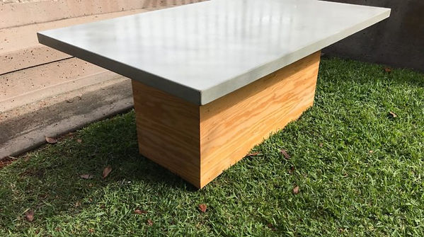 Concrete Tables desiged by DC Concrete Countertops in San Diego