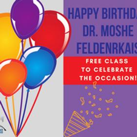 Happy Birthday Dr. Feldenkrais!
