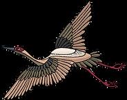 Embroidered Bird