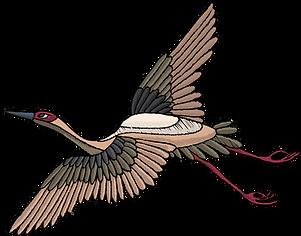 ricamato Uccello