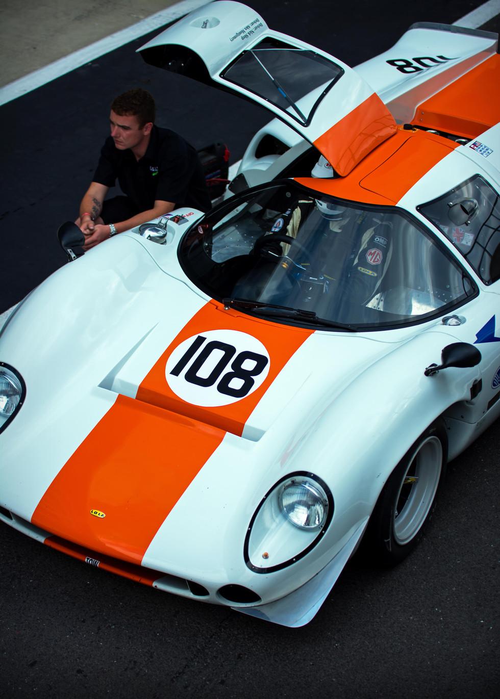 Nick Sleep & Alex Montgomery's 1968 Lola T70 Mk3