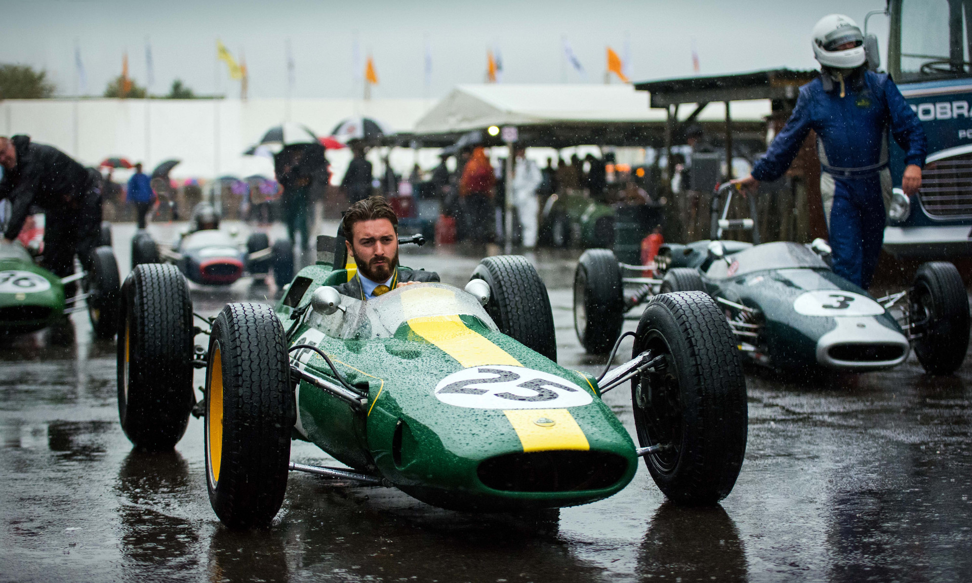 Andy Middlehursts's 1962 Lotus-Climax 25 at the 2017 Goodwood Revival