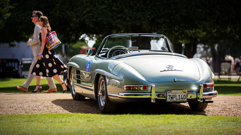 1958 Mercedes Benz 300SL Roadster at the