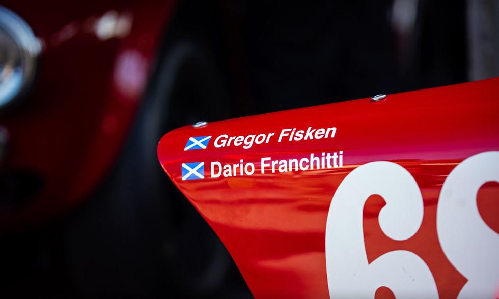 Gregor Fisken & Dario Franchitti
