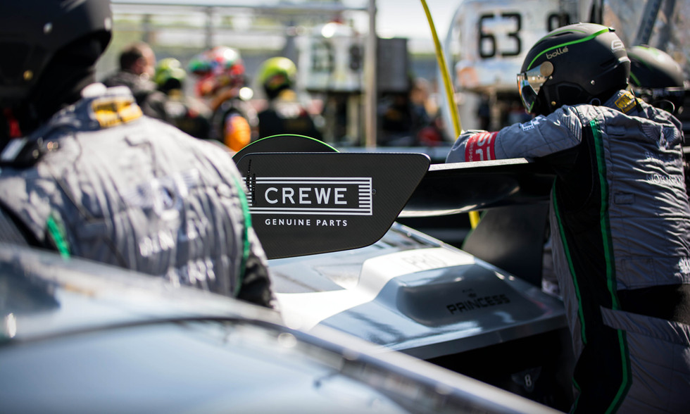 Crewe Genuine Parts at the 2018 Silverstone Blancpain