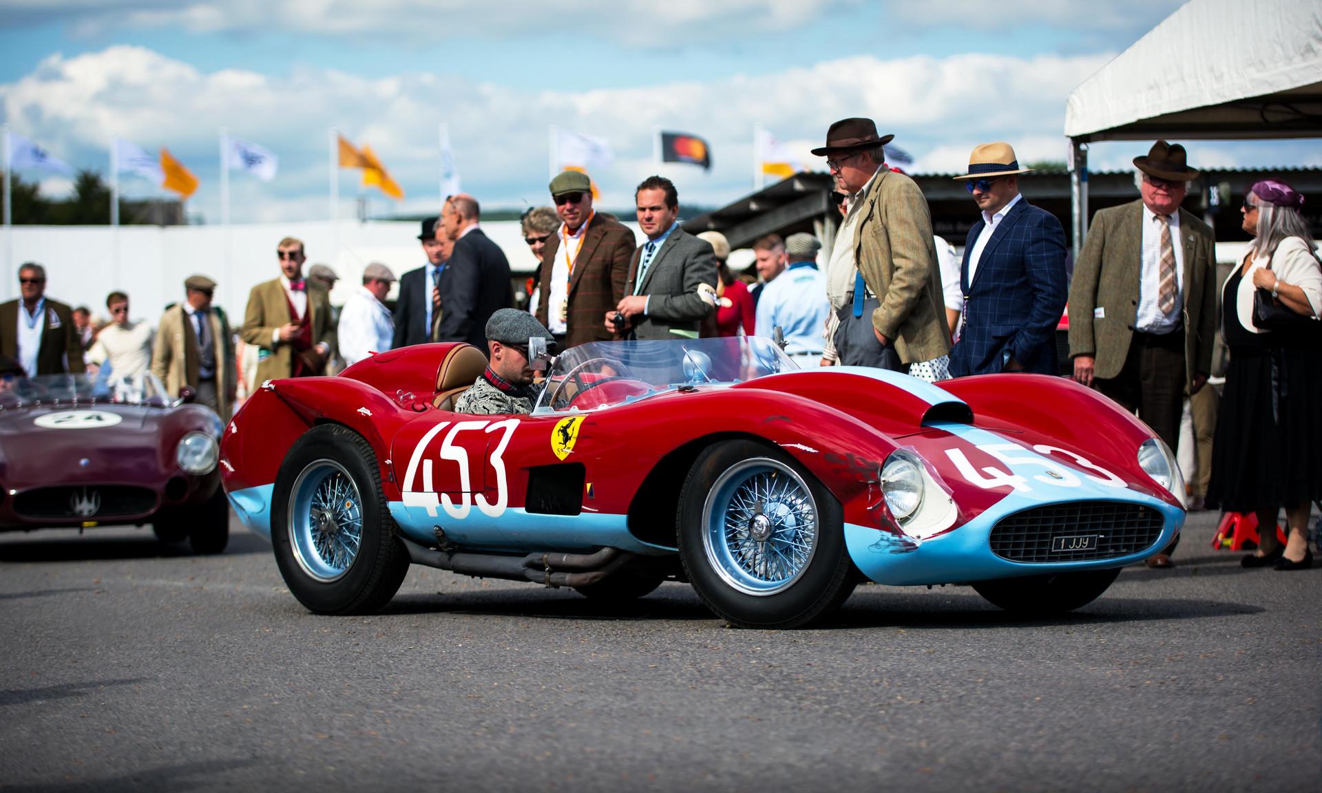 Jason Yates' 1957 Ferrari 500 TRC