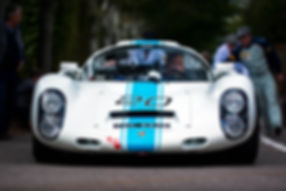 Rainer Becker's 1968 Porsche 910 at the