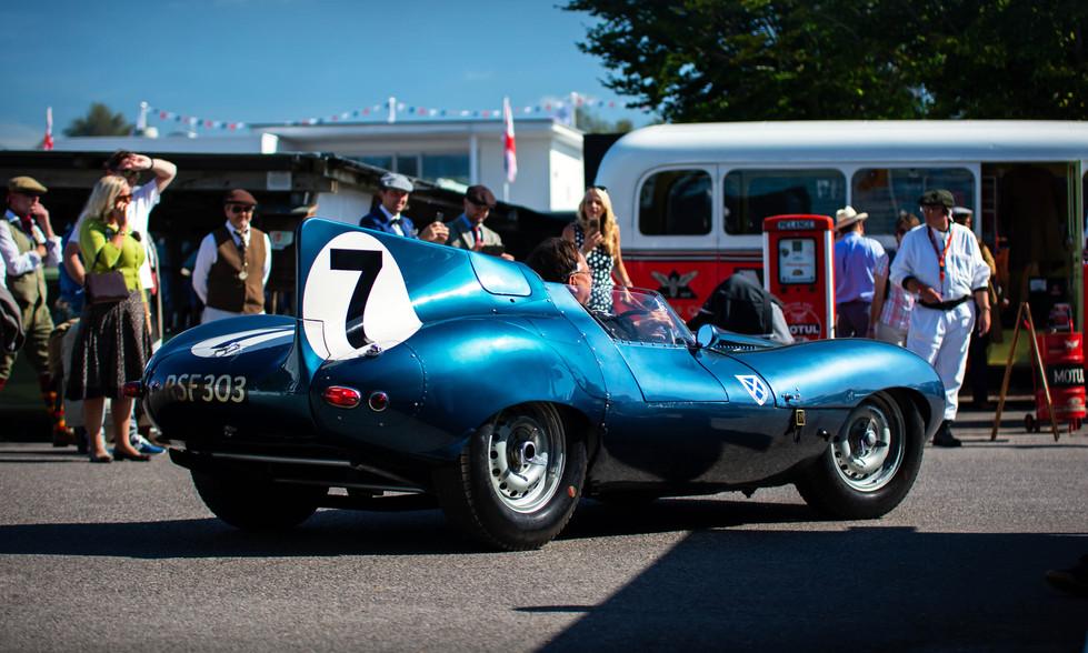 1956 Ecurie Ecosse Jaguar D-type