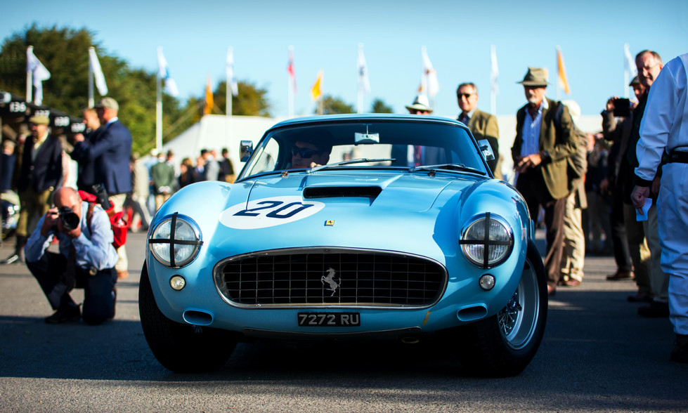 Marc Devis & Martin O'Connell's 1960 Ferrari 250 GT SWB/C