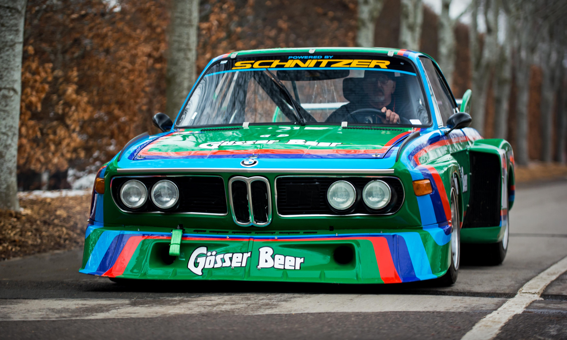 Anthony Walker's 1976 BMW 3.0 CSL at the Goodwood 76MM