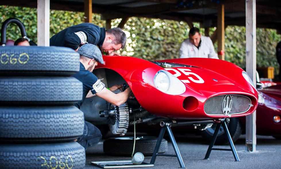 Scuderia del Viadotto & Conrad Ulrich's Maserati 300S