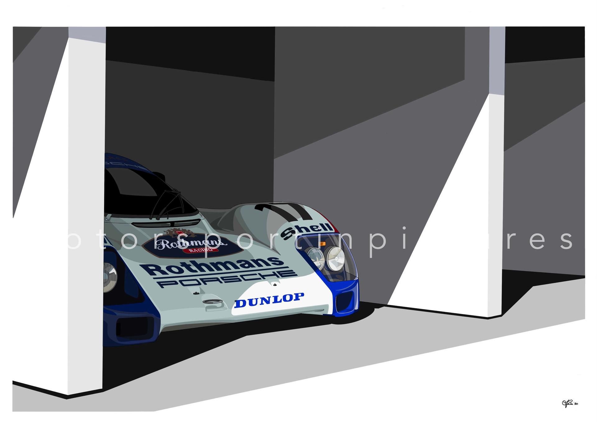 rothmans racing porsche 962