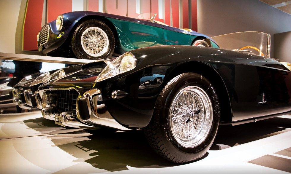 Ferrari 250 GT PF Cabriolet & 166MM Barchetta