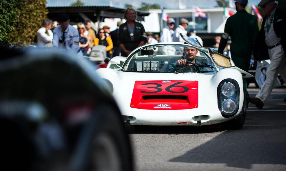 Uwe Bruschnik's 1967 Porsche 910