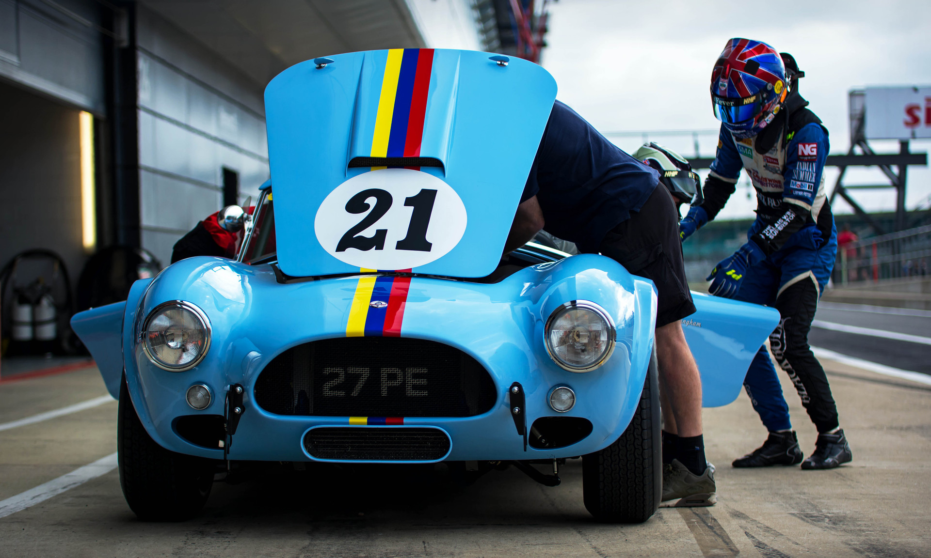 James Cottingham's 1964 AC Cobra