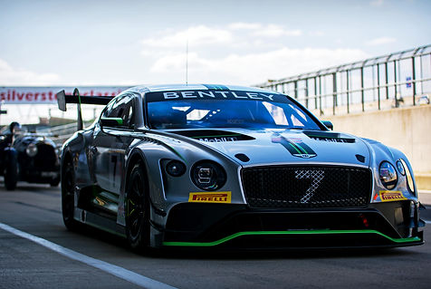 2018 Bentley Continental GT3 at the 2019
