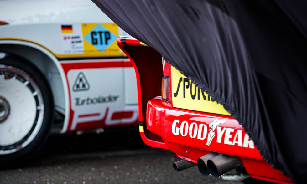 Stephan Meyers' 1977 Georg Loos Porsche 935 77A at the Goodwood 76MM