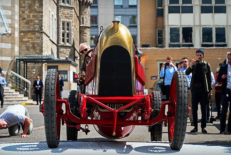 1910 Fiat S76 Beast of Turin at the 2019