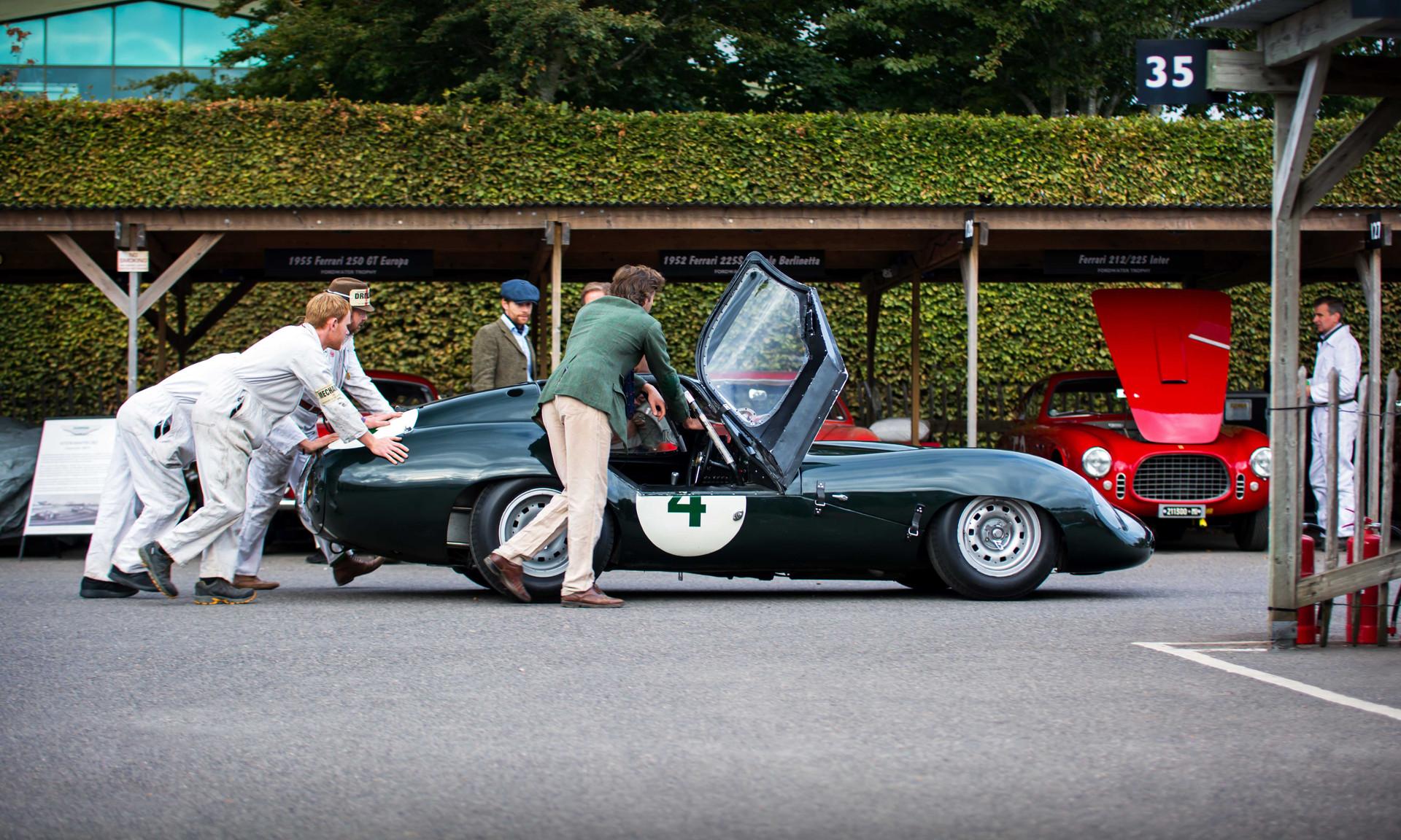 Frederic Wakeman & Patrick Blakeney-Edwards Lister Jaguar