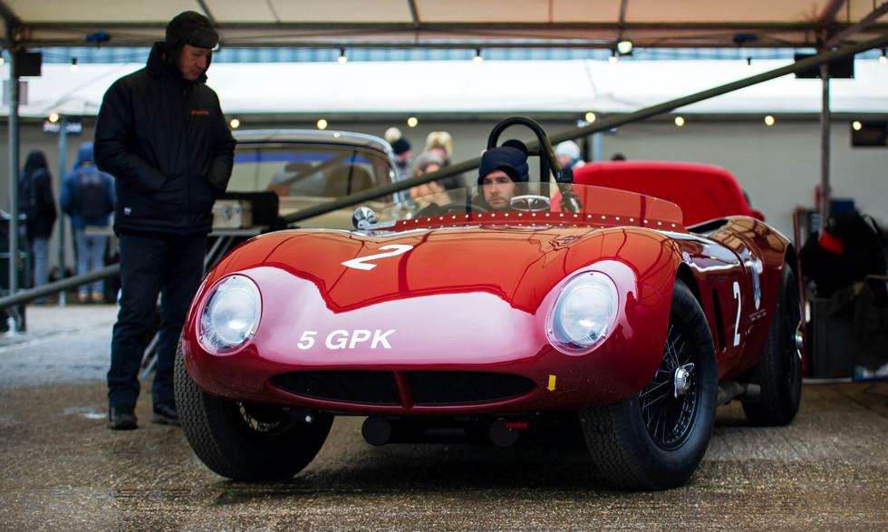 John Burton's 1958 Alton-Jaguar Sports at the Goodwood 76MM