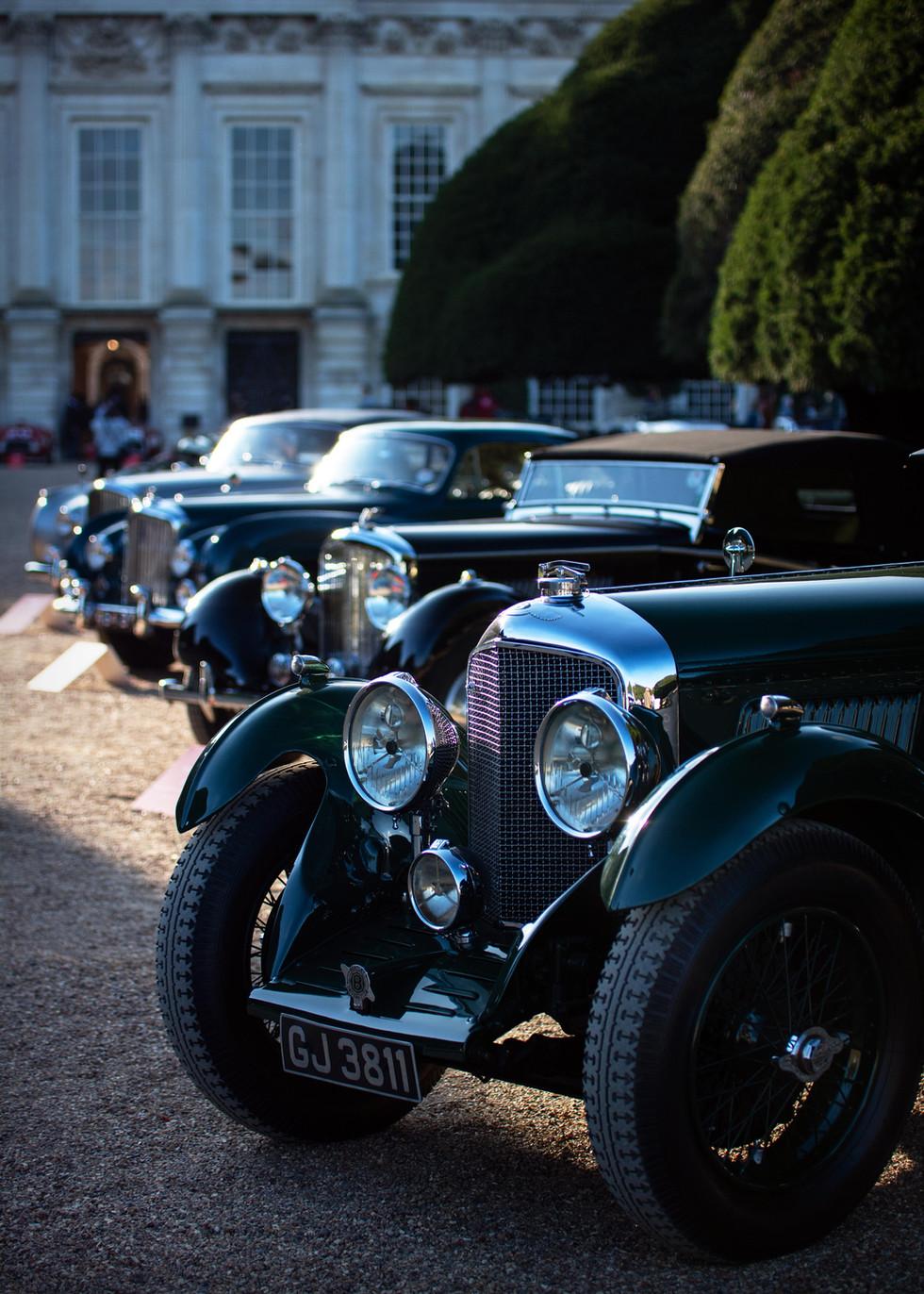 Bruce McCaw's 1930 Bentley Speed Six Blue Train