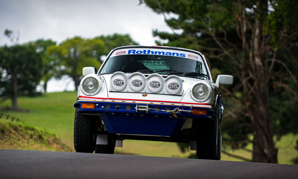 Rothmans Racing Porsche 911 Safari tribute