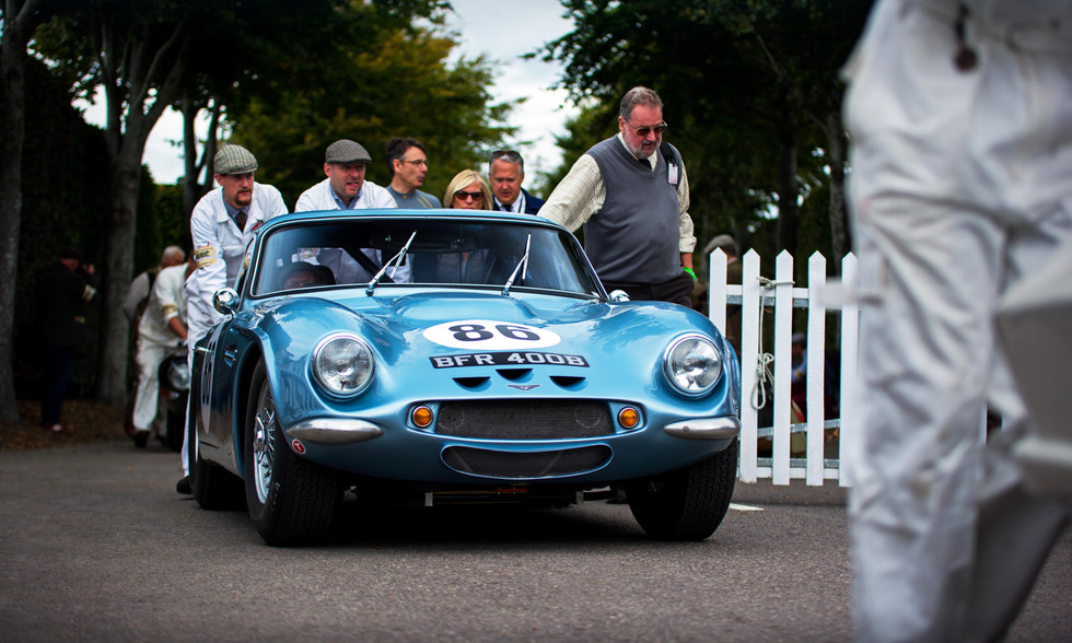 Mike Whitaker & Mike Jordan's 1965 TVR Griffith