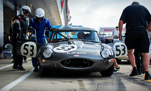 pit lane life at the silverstone classic