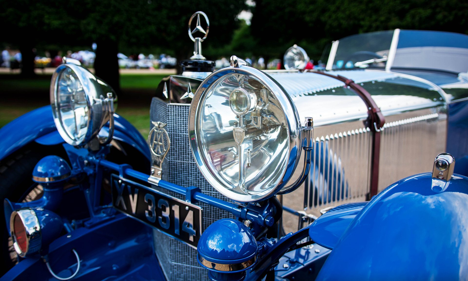 1929 Mercedes-Benz S Barker Tourer