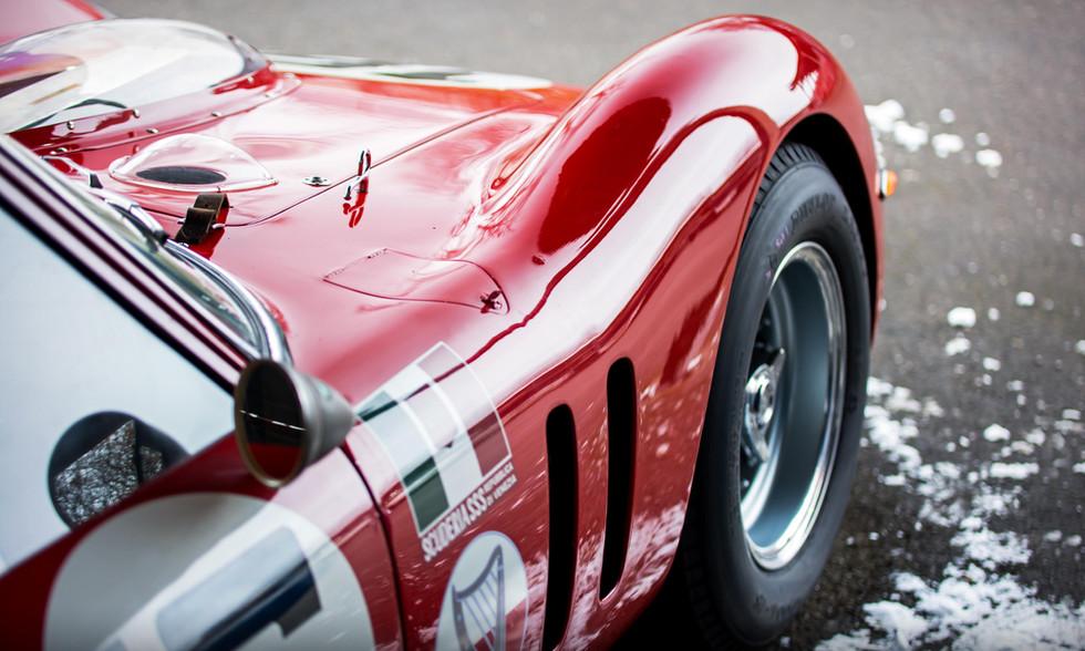 Lukas Halusa's 1961 Ferrari 250 GT SWB Breadvan at the Goodwood 76MM