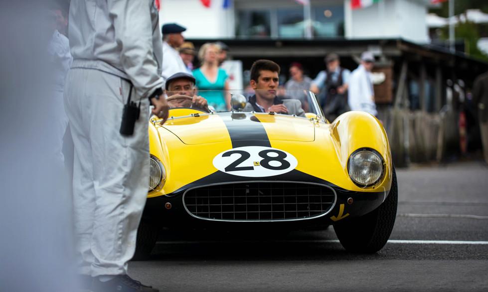 David Cottingham's 1957 Ferrari 500 TRC