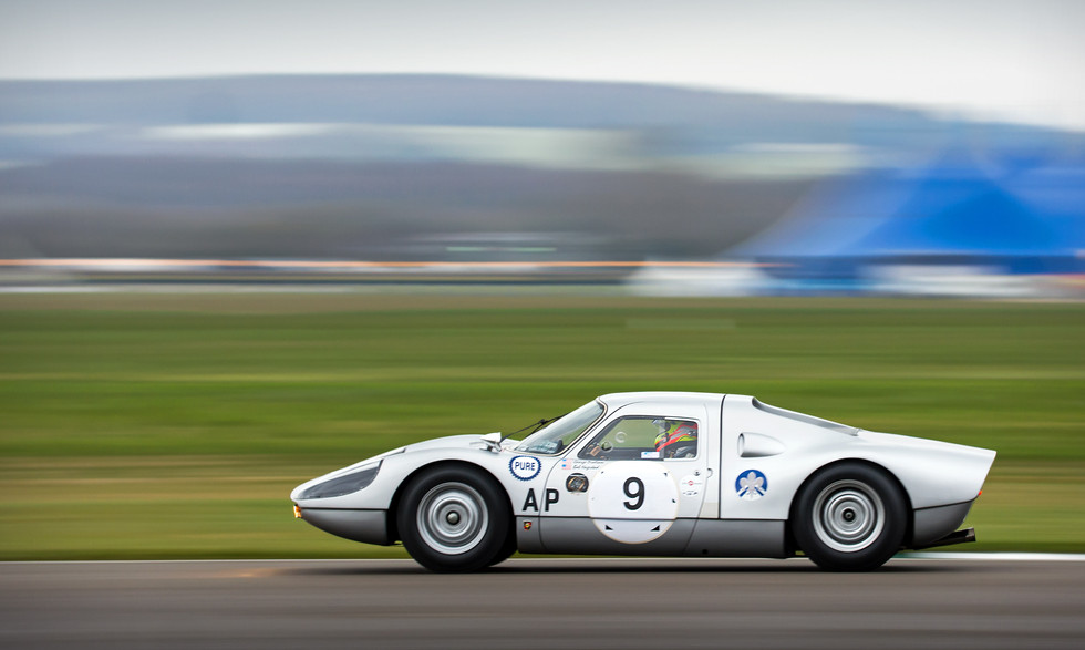 Heiko Ostmann's 1964 Porsche 904 Carrera GTS at the Goodwood 76MM
