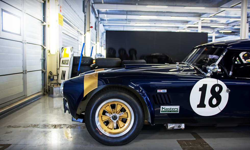 Greg Audi's 1964 Shelby Cobra 289