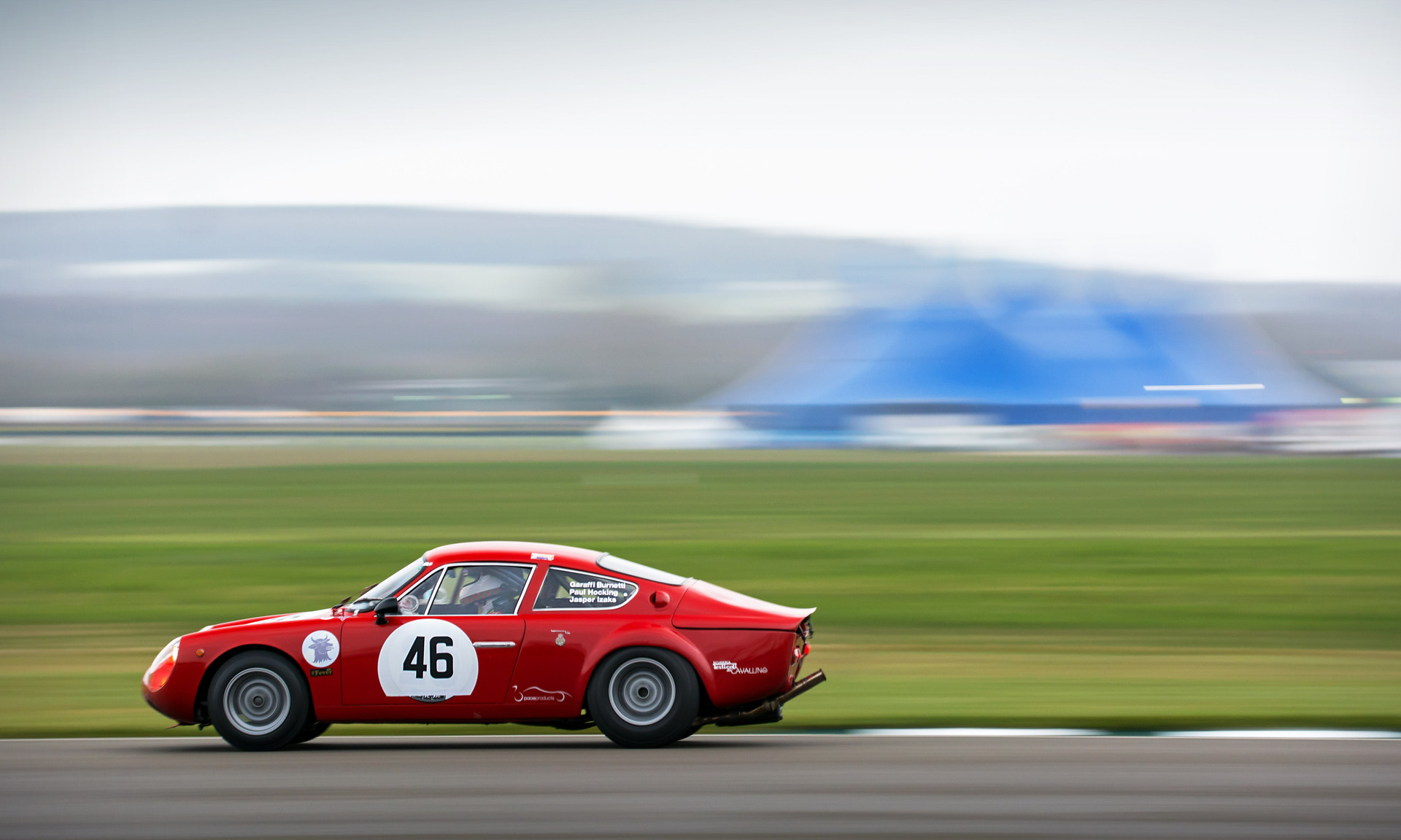 Paul Hocking's 1963 Abarth-Simca 2000 GT at the Goodwood 76MM