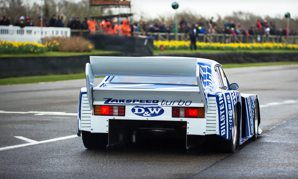 Ford Zakspeed Capri at the Goodwood 76MM