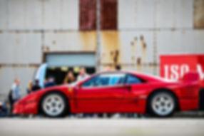Ferrari F40 at the 2019 Bicester Petroli
