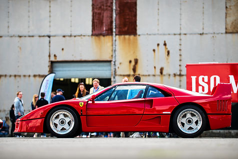 Ferrari F40 at the 2019 Bicester Petroli