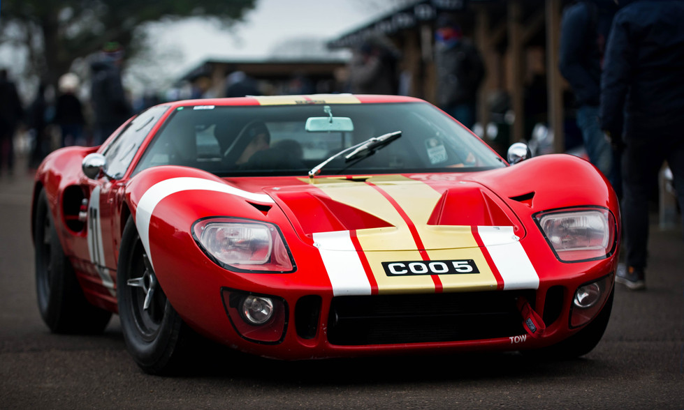 Craig Davies' 1965 Ford GT40 at the Goodwood 76MM