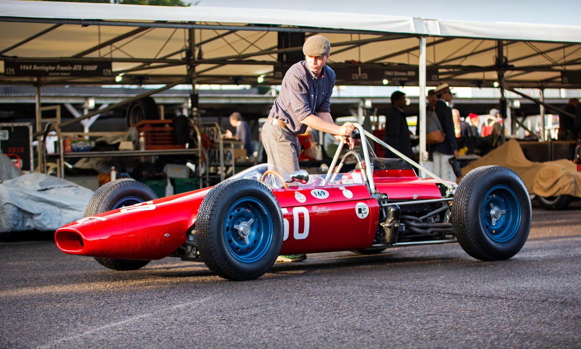 Jason Wright's 1964 Derrington Francis ATS-GP at the 2017 Goodwood Revival