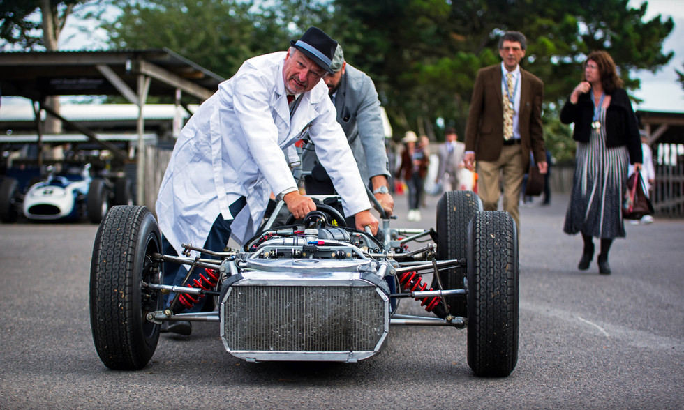 Back to basics at the 2018 Goodwood Revival